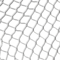 Сетка-гаситель для ворот гандбол/футзал 4.0mm x2 NET-0340