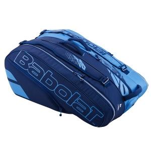 Чехол 10-12 ракеток Babolat Pure Drive Blue 751207-136