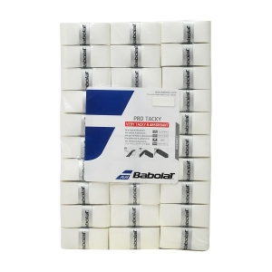 Обмотка для ручки Babolat Overgrip Pro Tacky Polybag x60 White 656009