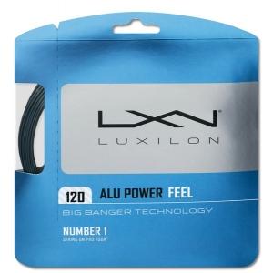 Струна для тенниса Luxilon 12m ALU Power Feel Gray WRZ998800