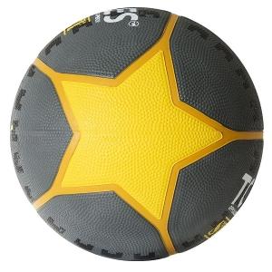 Мяч для баскетбола TORRES Street Gray/Yellow B0241
