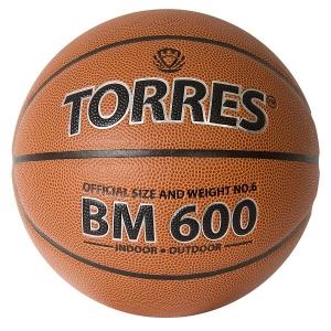 Мяч для баскетбола TORRES BM600 Brown B3202