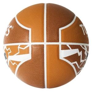 Мяч для баскетбола TORRES Power Shot Orange/White B3208