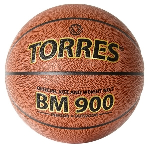 Мяч для баскетбола TORRES BM900 Orange B3203