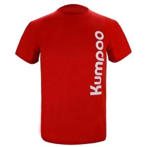 Футболка Kumpoo T-shirt U KW-009 Red
