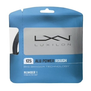 Струна для тенниса Luxilon 12m ALU Power Rough Gray WRZ995200
