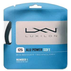 Струна для тенниса Luxilon 12m ALU Power Soft Gray WRZ990101