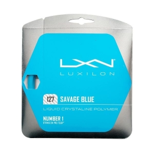 Струна для тенниса Luxilon 12m Savage Blue WRZ994520
