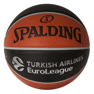 Мяч для баскетбола Spalding TF-1000 Legacy Euroleague Offical Ball Black/Brown 84-004Z