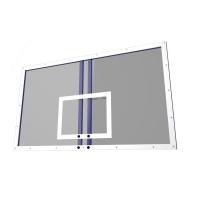 Баскетбольный щит AVIX Игровой 1800x1050mm закалённое стекло 10mm