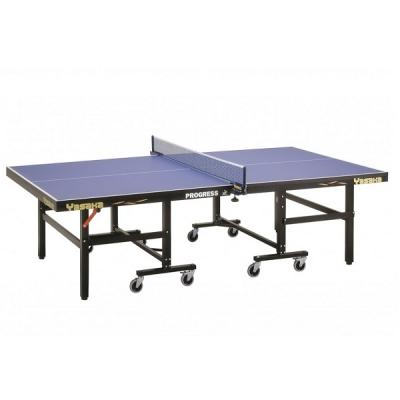 Теннисный стол Yasaka Professional Progress Roller ITTF Blue