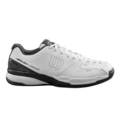Кроссовки Wilson Rush Comp Leather U White/Black WRS324580E