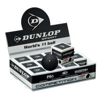 Мячи для сквоша Dunlop 1-Yellow Competition 1b Box x12