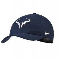 Кепка Nike Court AeroBill H86 Rafa Tennis Hat Dark Blue 850666-451