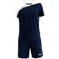 Комплект Mikasa Kit M T-shirt+Shorts Dark Blue/White MT351-061
