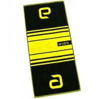 Полотенце ANDRO Stripes 38x85 Black/Yellow