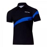Поло Victas Polo Shirt M 215 Black/Blue