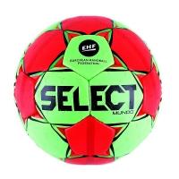 Мяч для гандбола SELECT Mundo Green/Red 846211-443