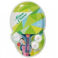 Набор для настольного тенниса Nittaku Mima S2500 (1r, 2b)