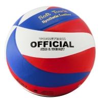 Мяч для волейбола ATEMI Rapid PU Soft White/Blue/Red