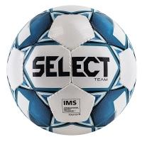 Мяч для футбола SELECT Team IMS White/Blue 815419-020