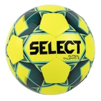 Мяч для минифутбола SELECT Futsal Talento 9 Yellow/Turquoise 852615-554