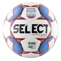 Мяч для минифутбола SELECT Futsal Super League АМФР РФС FIFA White/Blue/Red 850718-172
