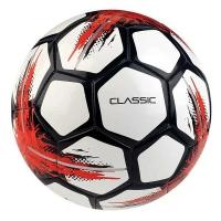 Мяч для футбола SELECT Classic White/Black/Red 815320-001