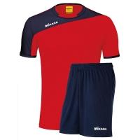 Комплект Mikasa Kit M T-shirt+Shorts Red/Dark Blue MT351-062