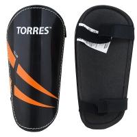 Щитки футбольные TORRES Club x2 Black/Orange FS1607