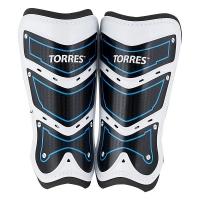 Щитки футбольные TORRES Training x2 White/Black/Blue FS1505