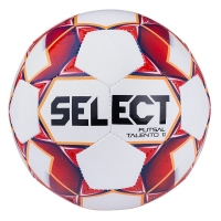 Мяч для минифутбола SELECT Futsal Talento 11 White/Red 852616-003
