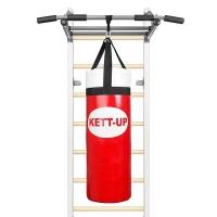 Мешок боксерский на стропах 5kg 45cm Red KU160-5 KETT-UP