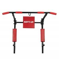Турник-брусья Strong 3в1 Black/Red KU201.1 KETT-UP