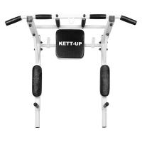 Турник-брусья Kraft 3в1 White/Black KU202 KETT-UP