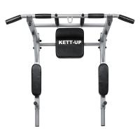 Турник-брусья Kraft 3в1 Gray/Black KU203 KETT-UP