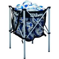 Корзина для мячей Wilson Ball Trolley Volleyball x24 WTH180400