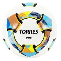Мяч для футбола TORRES Pro White/Мulticolor F32001