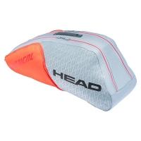 Чехол 4-6 ракеток Head Radical Combi Gray/Orange 283521