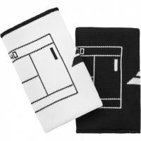 Напульсник Babolat Wristband Reversible JB White/Black 5UA1281-1001