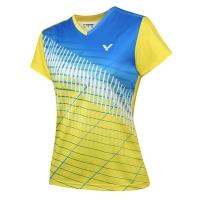 Футболка Victor T-shirt W T-91012/E Yellow/Cyan
