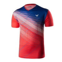 Футболка Victor T-shirt M T-90012/D Red/Blue