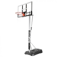 Стойка баскетбольная Мобильная Spalding 1321x813mm h2.28-3.05m Silver Portable Acrylic 52 75761CN