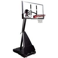 Стойка баскетбольная Spalding Platinum Acrylic 60 мобильная 68562CN