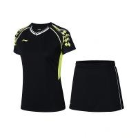 Комплект Li-Ning Kit W T-shirt+Skirt Black AATR004-4