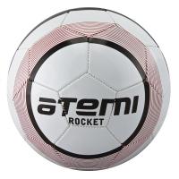 Мяч для футбола ATEMI Junior Rocket PVC White/Red