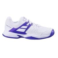 Кроссовки Babolat Junior Pulsion Wimbledon 1046 White/Purple 33S20559