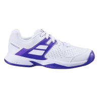 Кроссовки Babolat Junior Pulsion Wimbledon 1046 White/Purple 32S20559
