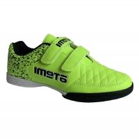 Бутсы футбольные Indoor ATEMI SD150 Light Green/Black
