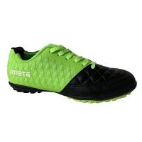 Бутсы футбольные Outdoor ATEMI SD700 TURF Light Green/Black
